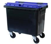Waste bin with 4 wheels